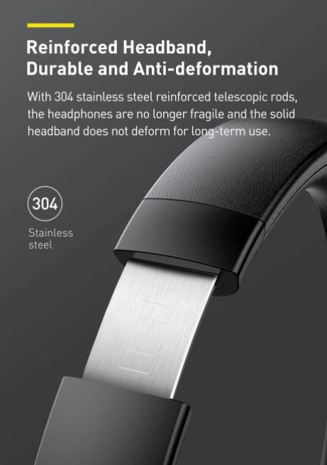 Letisztult külsejű Bluetooth fejhallgató a Baseustól 7