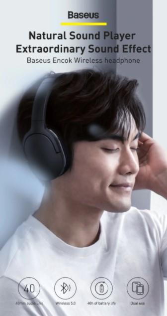 Letisztult külsejű Bluetooth fejhallgató a Baseustól 2
