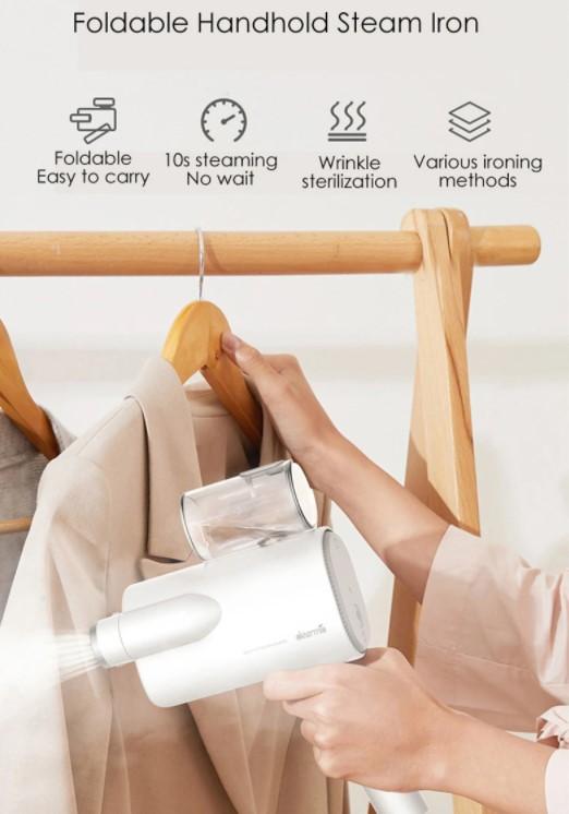 A Deerma ruhagőzölővel kevesebbszer fog kelleni a vasalódeszka 2