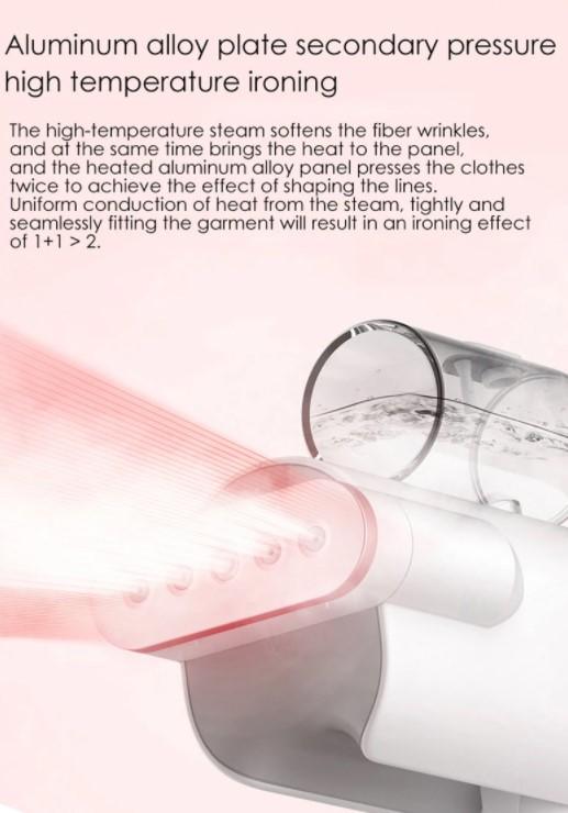 A Deerma ruhagőzölővel kevesebbszer fog kelleni a vasalódeszka 6