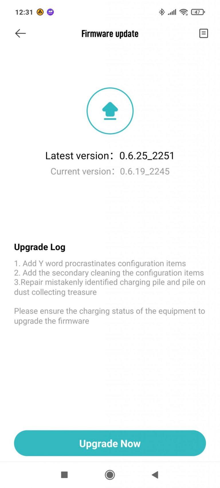 Xiaomi Roidmi Eve Plus önürítő robotporszívó teszt 20