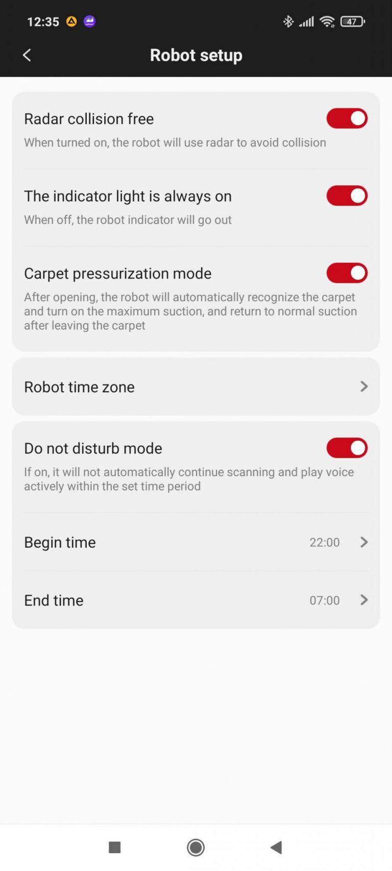 Xiaomi Roidmi Eve Plus önürítő robotporszívó teszt 21