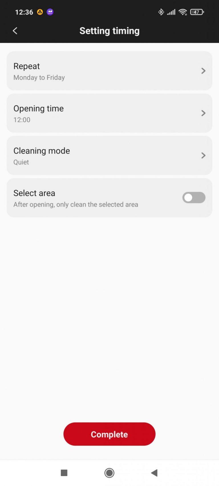 Xiaomi Roidmi Eve Plus önürítő robotporszívó teszt 22