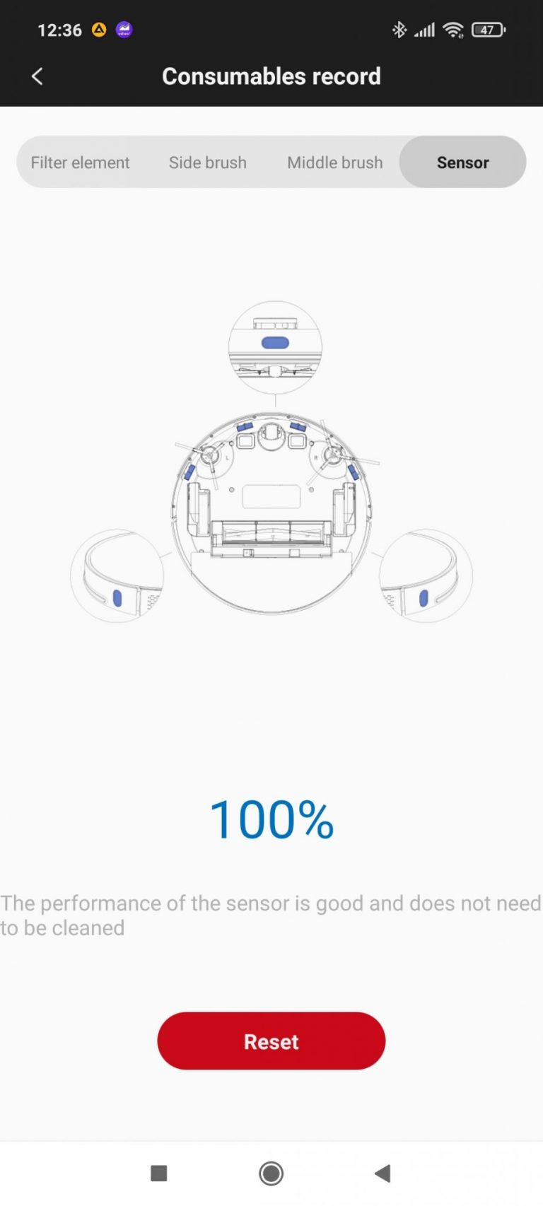 Xiaomi Roidmi Eve Plus önürítő robotporszívó teszt 23
