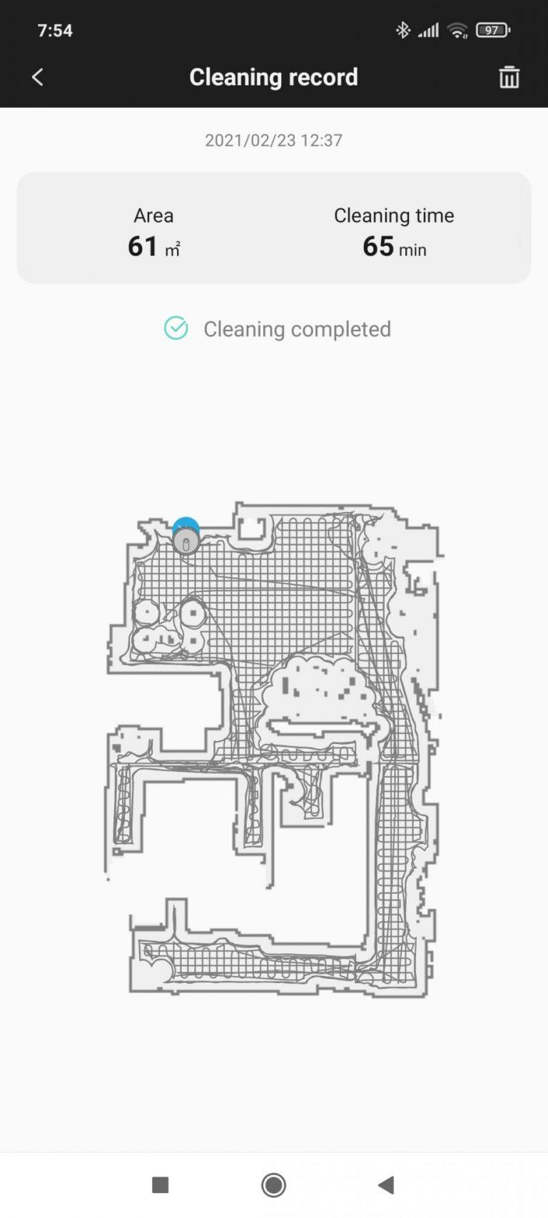Xiaomi Roidmi Eve Plus önürítő robotporszívó teszt 26