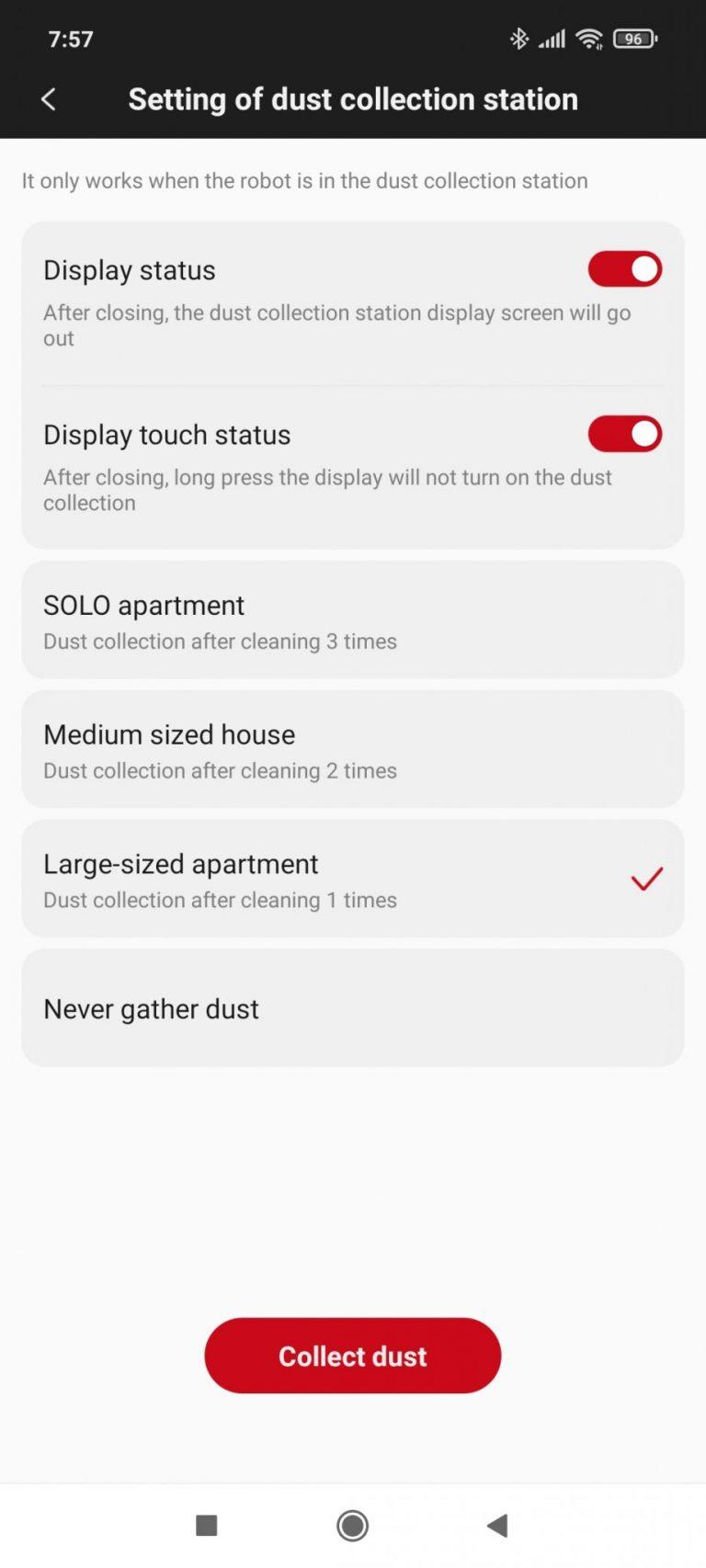 Xiaomi Roidmi Eve Plus önürítő robotporszívó teszt 28