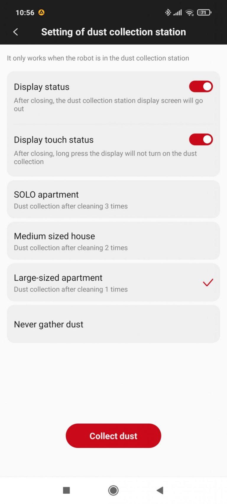Xiaomi Roidmi Eve Plus önürítő robotporszívó teszt 36