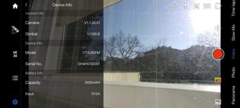 Xiaomi Fimi Palm 2 gimbalkamera teszt 58