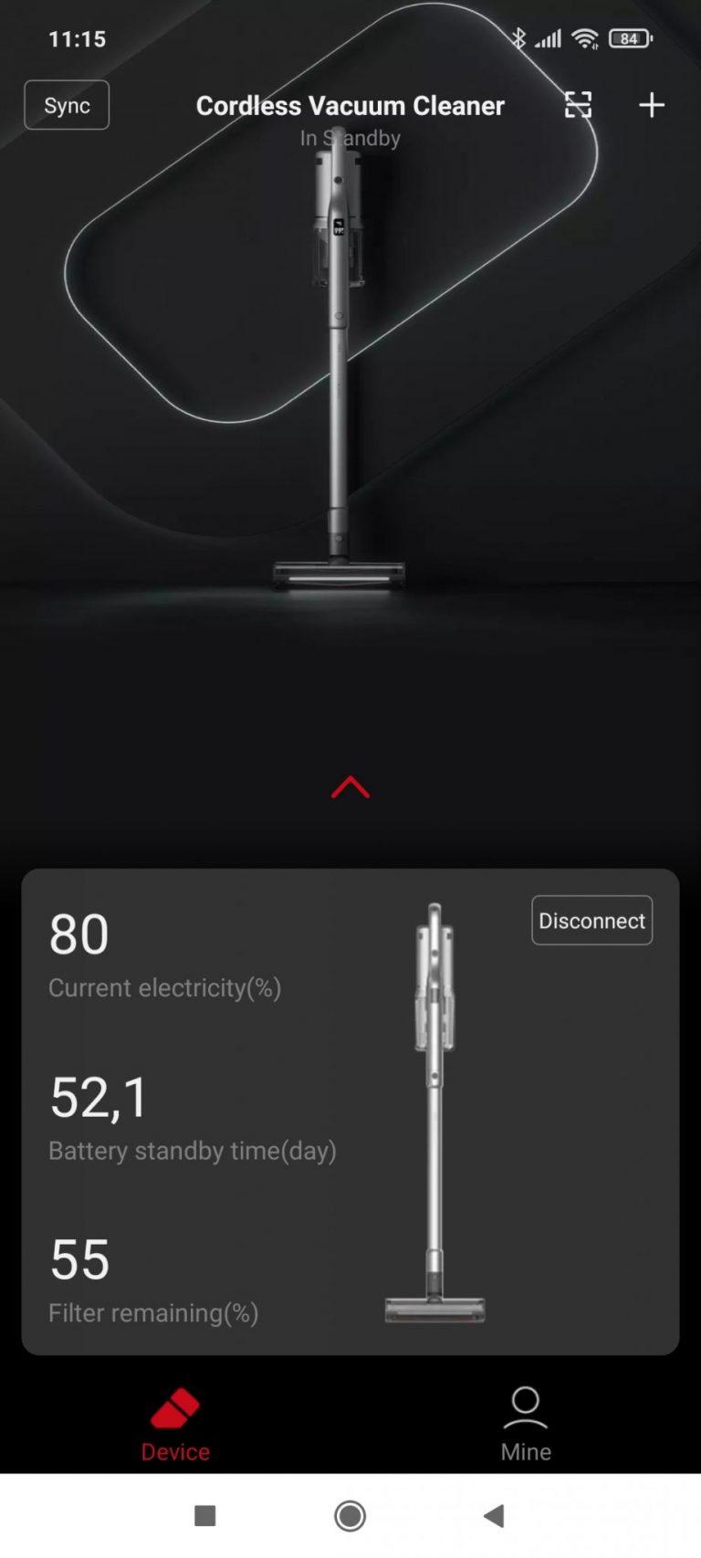Xiaomi Roidmi NEX 2/X30 Pro állóporszívó teszt 20