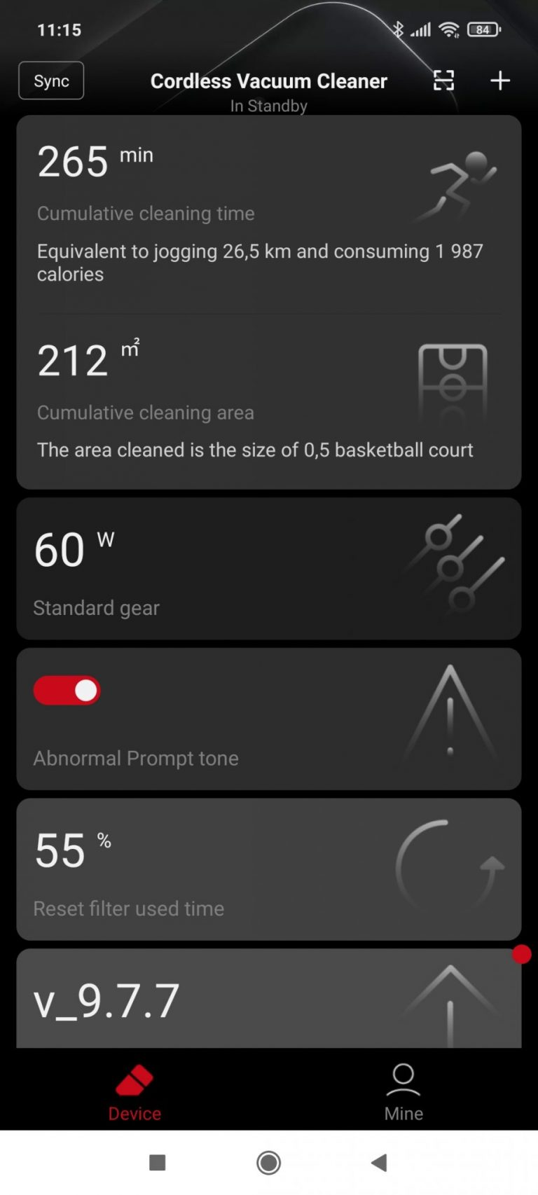 Xiaomi Roidmi NEX 2/X30 Pro állóporszívó teszt 21