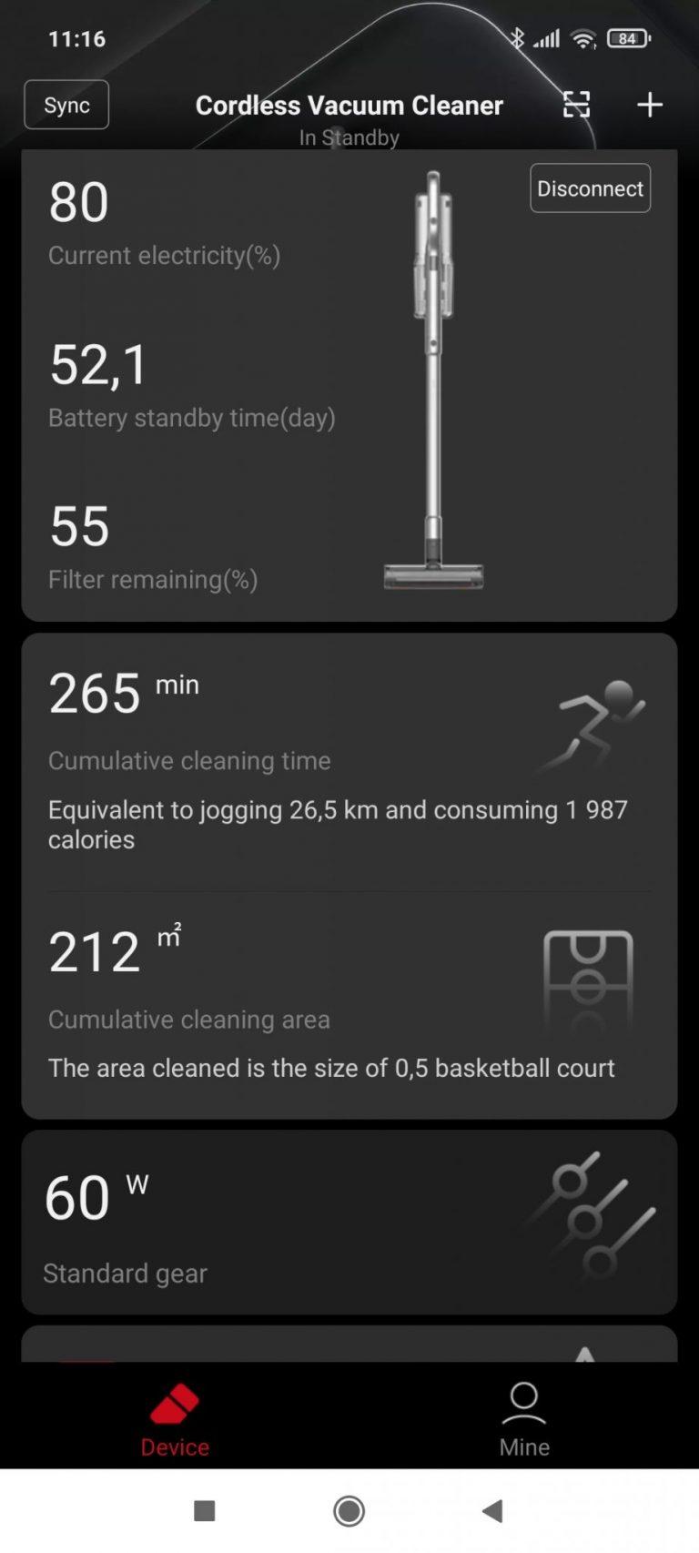 Xiaomi Roidmi NEX 2/X30 Pro állóporszívó teszt 22