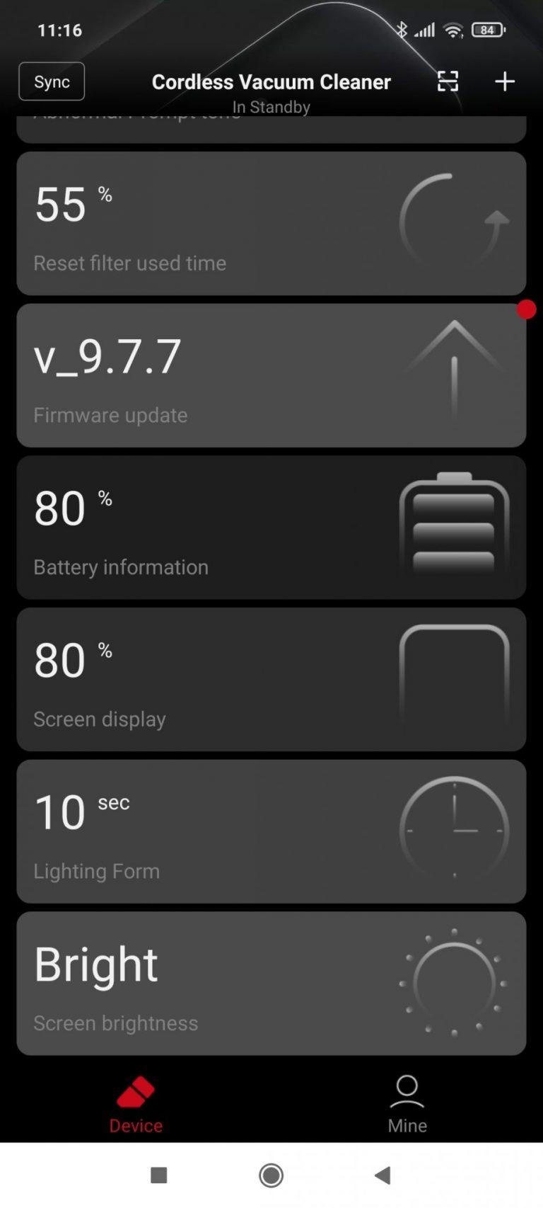 Xiaomi Roidmi NEX 2/X30 Pro állóporszívó teszt 23