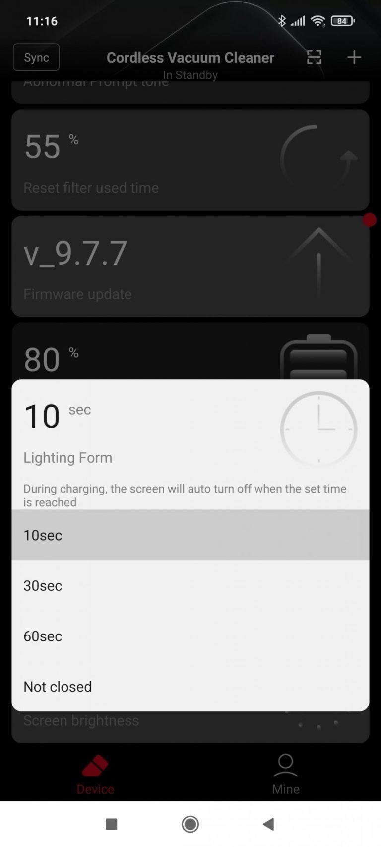 Xiaomi Roidmi NEX 2/X30 Pro állóporszívó teszt 24