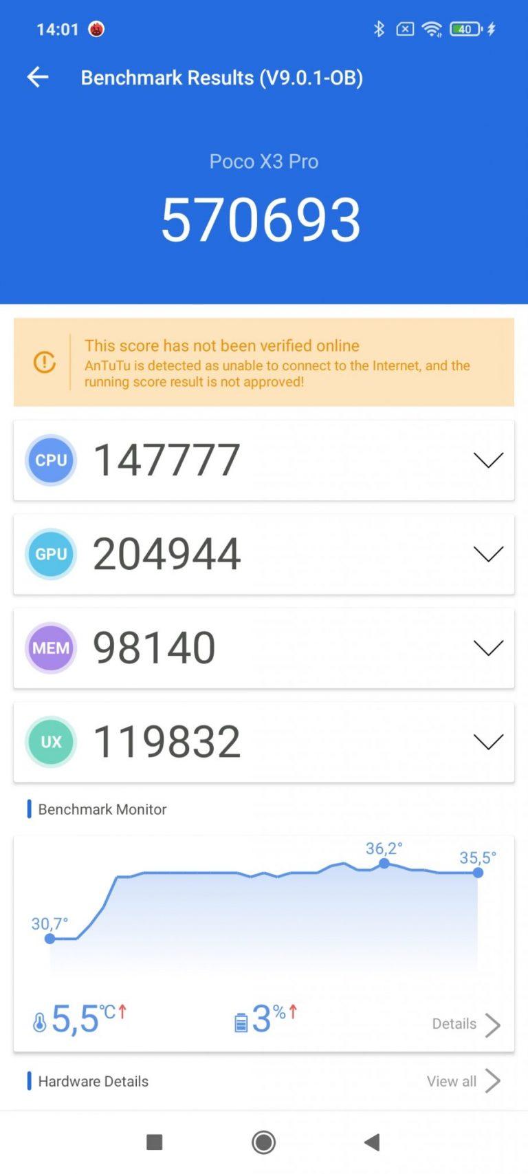 Poco X3 Pro okostelefon teszt 25