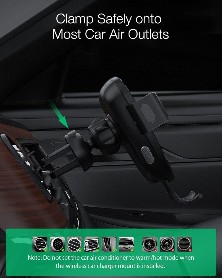Leértékelték a BlitzWolf közkedvelt vezeték nélküli autós töltőjét 6