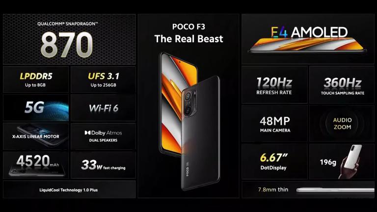 Már kapható a Poco F3 a Xiaomishopnál 5