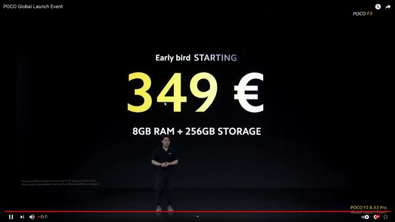 Már kapható a Poco F3 a Xiaomishopnál 24
