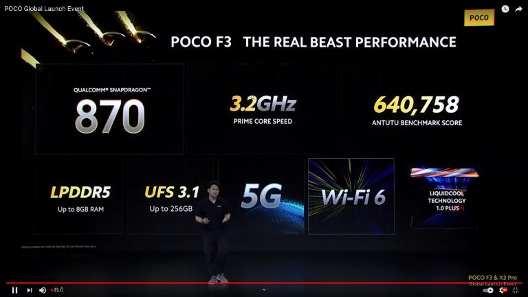 Már kapható a Poco F3 a Xiaomishopnál 10