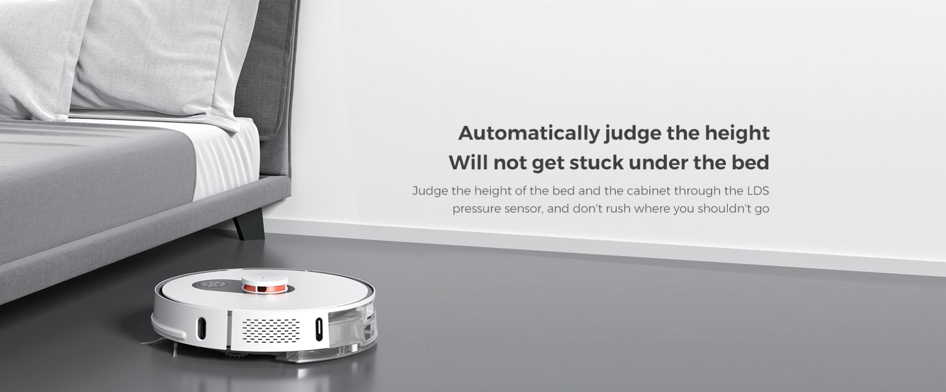 Xiaomi Roidmi Eve Plus önürítő robotporszívó teszt 41