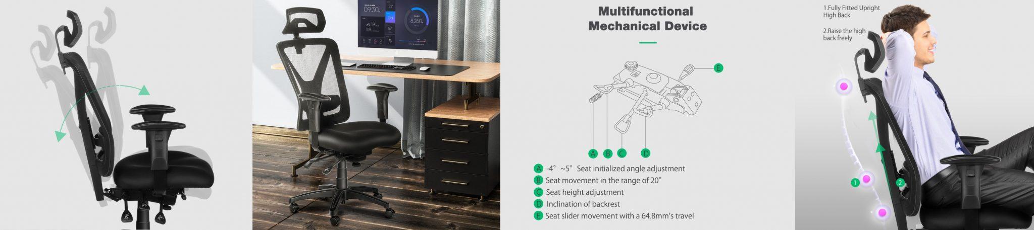 BlitzWolf BW-HOC5 irodai szék teszt 18