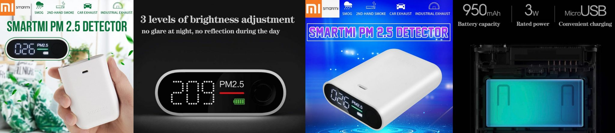 Xiaomi Smartmi PM detektor teszt 17