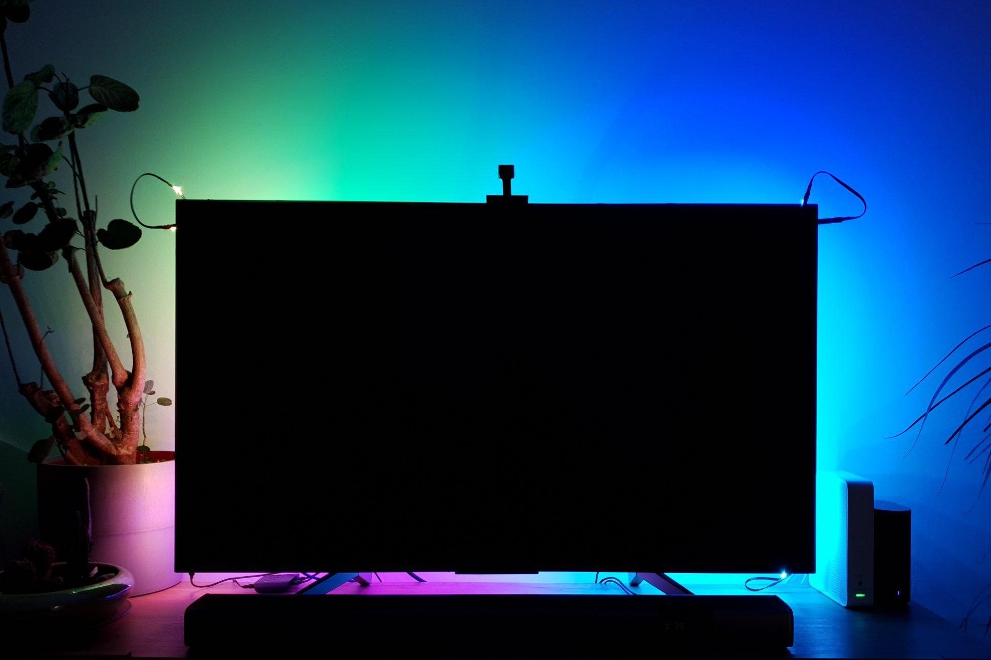 Govee Immersion TV háttérfény teszt 34