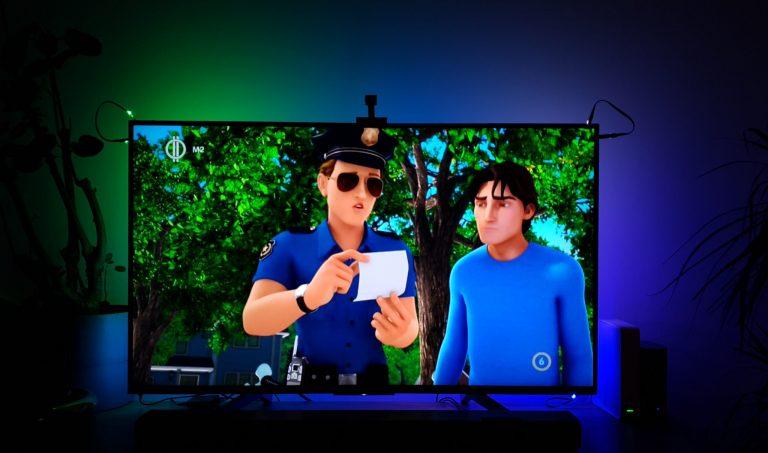 Govee Immersion TV háttérfény teszt 28