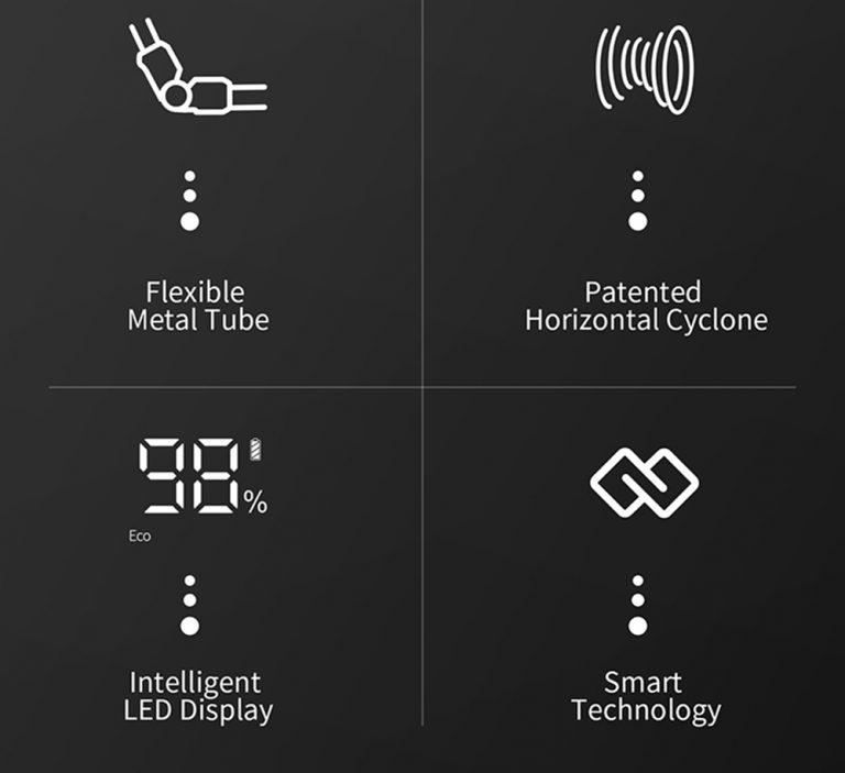 Xiaomi Jimmy H9 Pro állóporszívó teszt 22