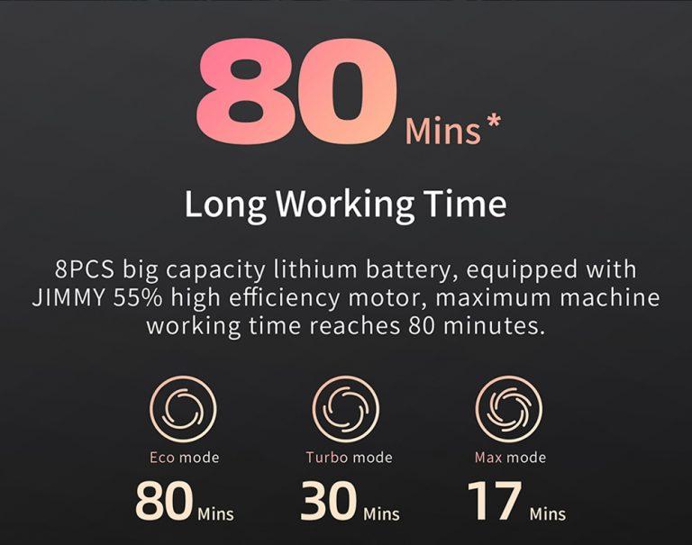 Xiaomi Jimmy H9 Pro állóporszívó teszt 25