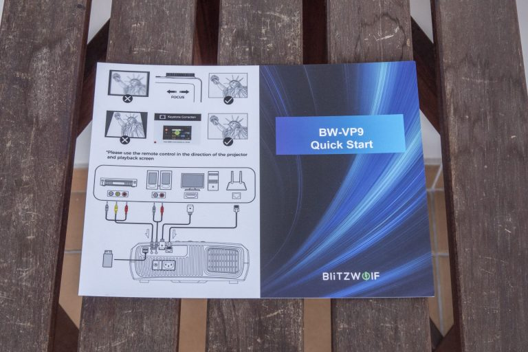 BlitzWolf BW-VP9 projektor teszt 4