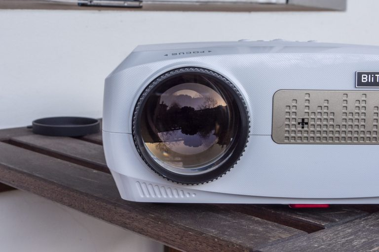 BlitzWolf BW-VP9 projektor teszt 9