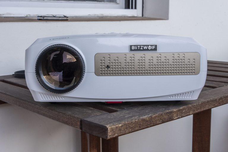 BlitzWolf BW-VP9 projektor teszt 10