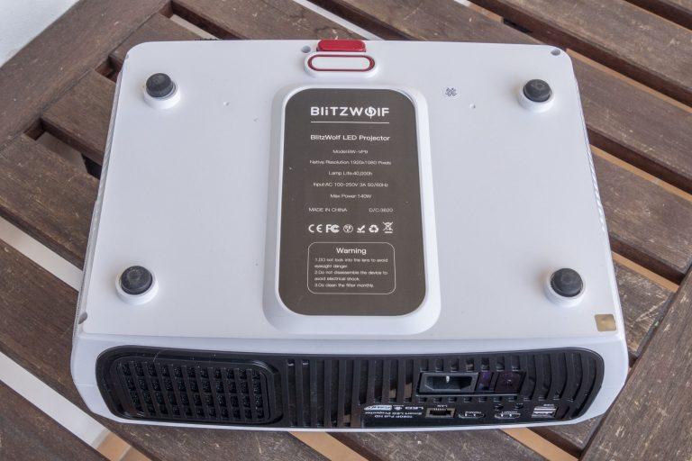 BlitzWolf BW-VP9 projektor teszt 12