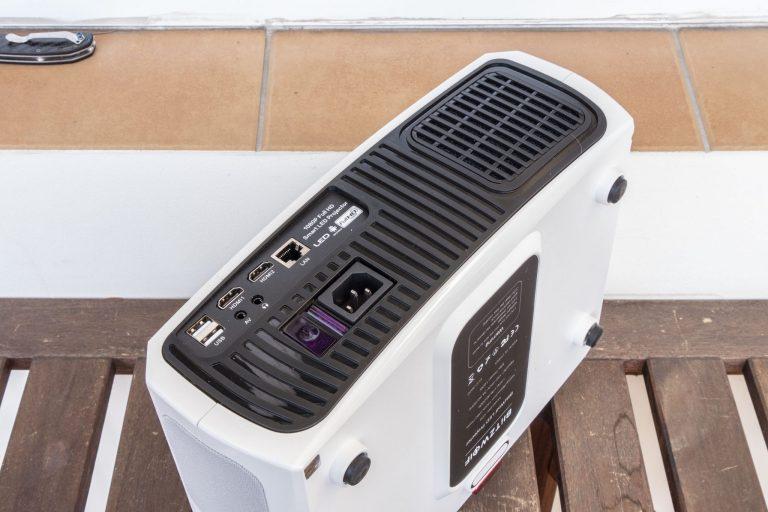 BlitzWolf BW-VP9 projektor teszt 15
