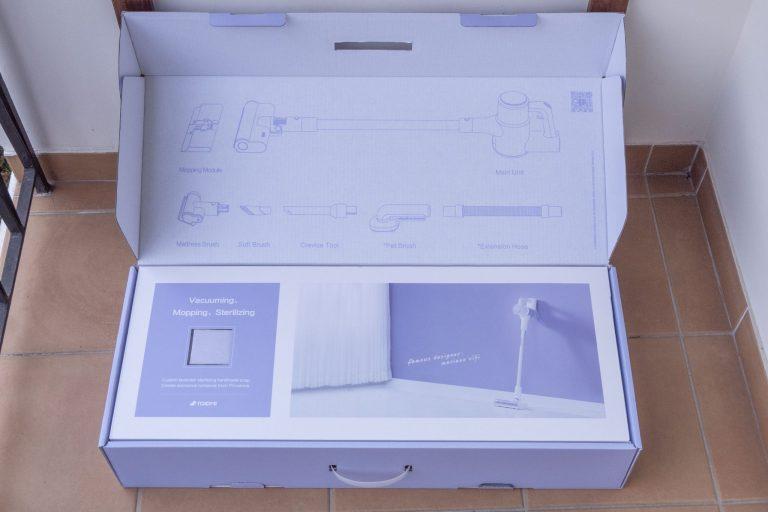 Xiaomi Roidmi Z1 sterilizálós állóporszívó teszt 3