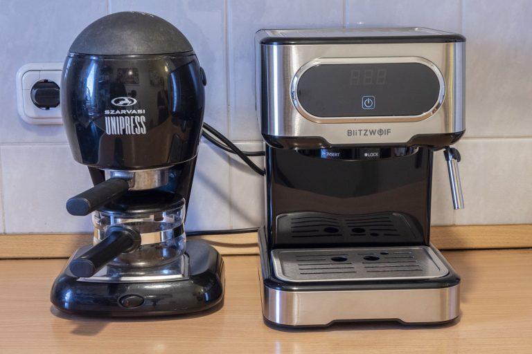 BlitzWolf BW-CMM2 kávéfőző teszt 11