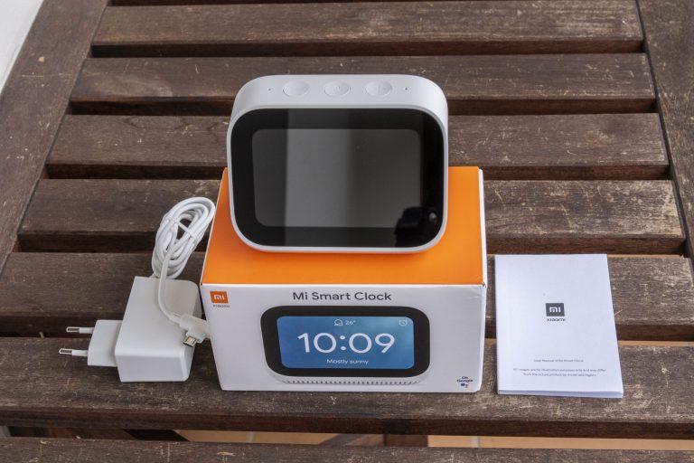Xiaomi Mi Smart Clock ébresztőóra teszt 3