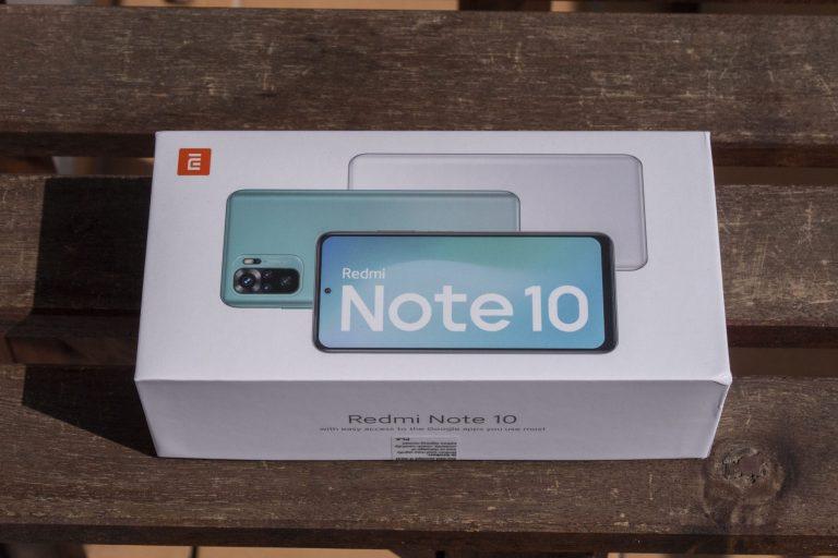 Xiaomi Redmi Note 10 okostelefon teszt 2