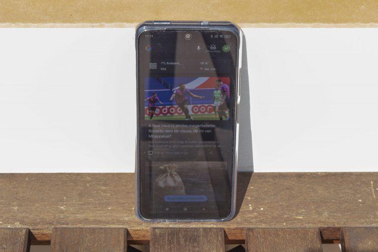 Xiaomi Redmi Note 10 okostelefon teszt 6