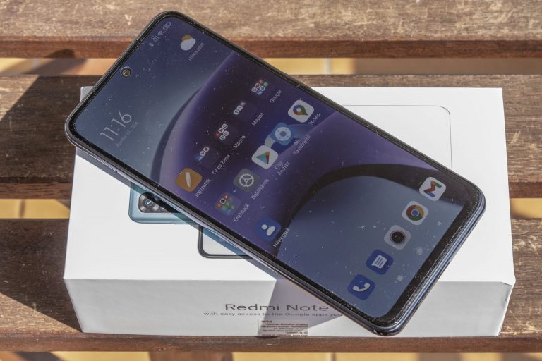 Xiaomi Redmi Note 10 okostelefon teszt 12