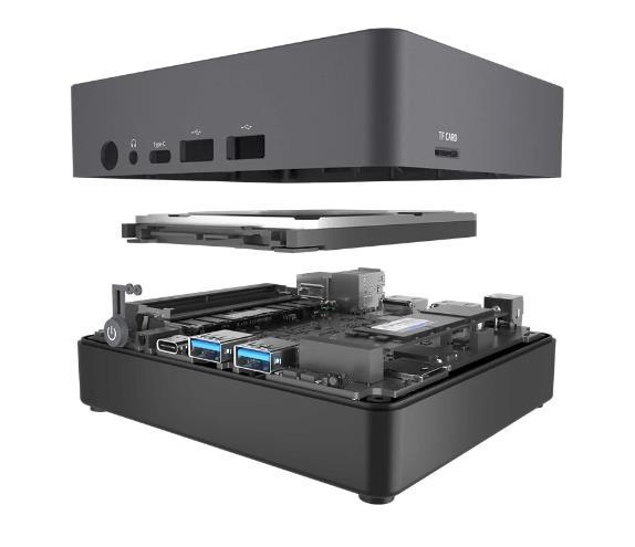 Itt a GMK NucBox 2, ami egy erőgép az első variánshoz képest 3