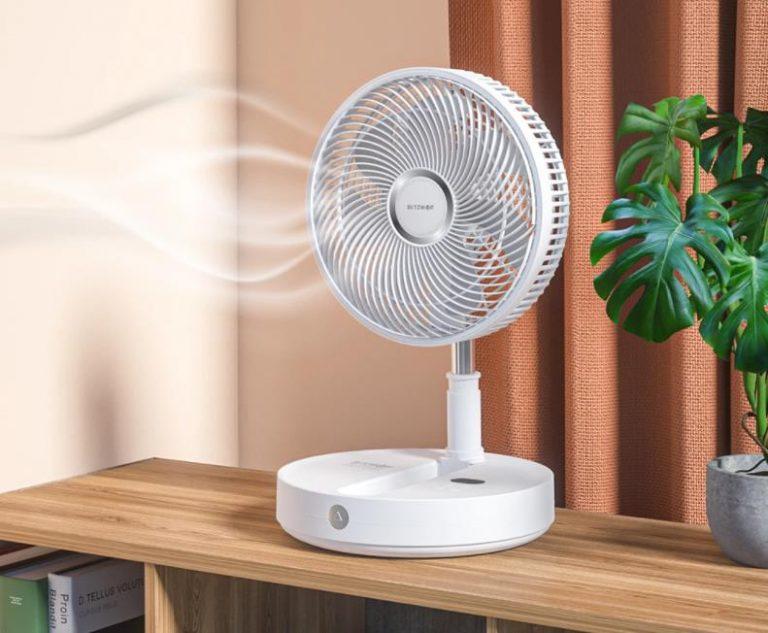 BlitzWolf akkumulátoros ventilátorok akciója 3