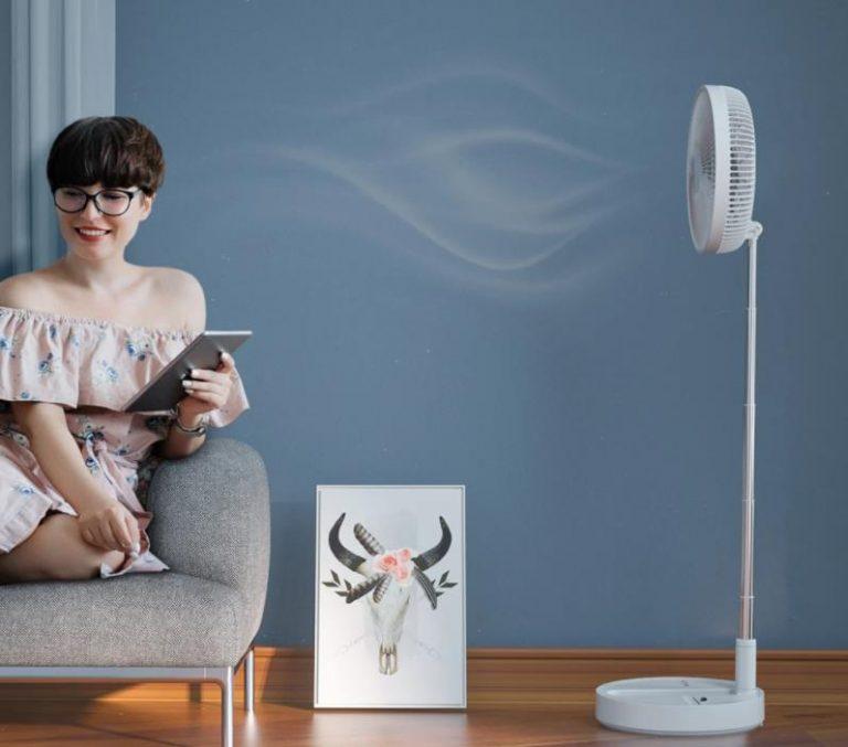 BlitzWolf akkumulátoros ventilátorok akciója 7