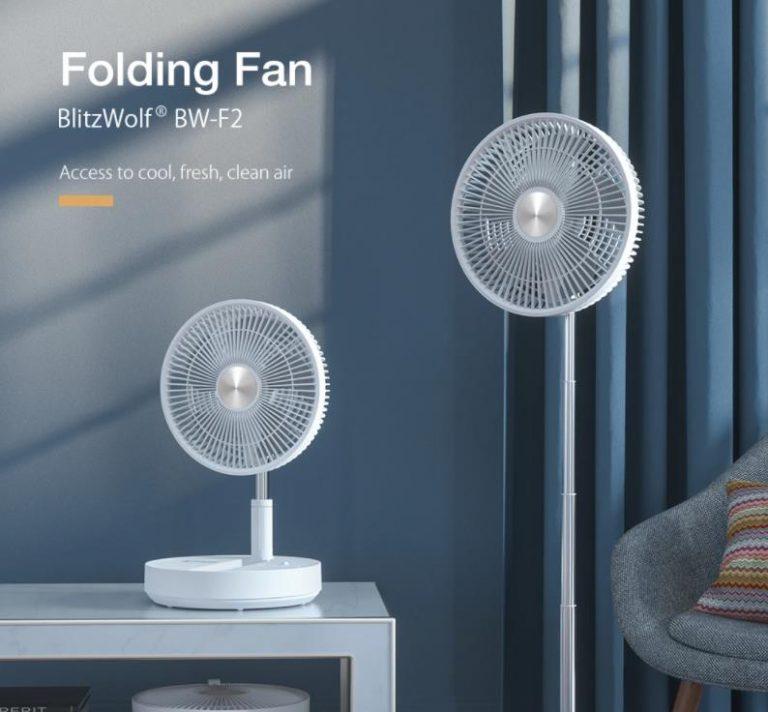 BlitzWolf akkumulátoros ventilátorok akciója 5