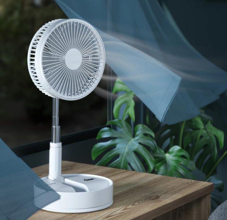 BlitzWolf akkumulátoros ventilátorok akciója 6