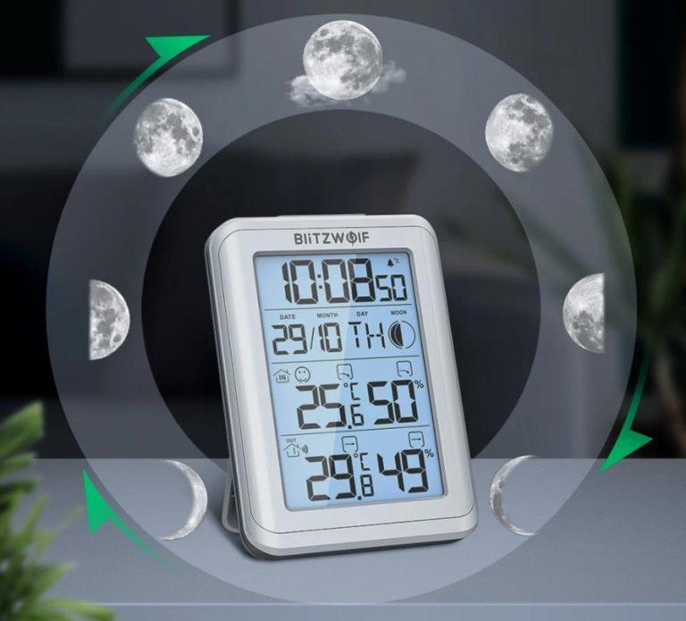 Rekord alacsony áron vihető a BlitzWolf időjárás állomása 5