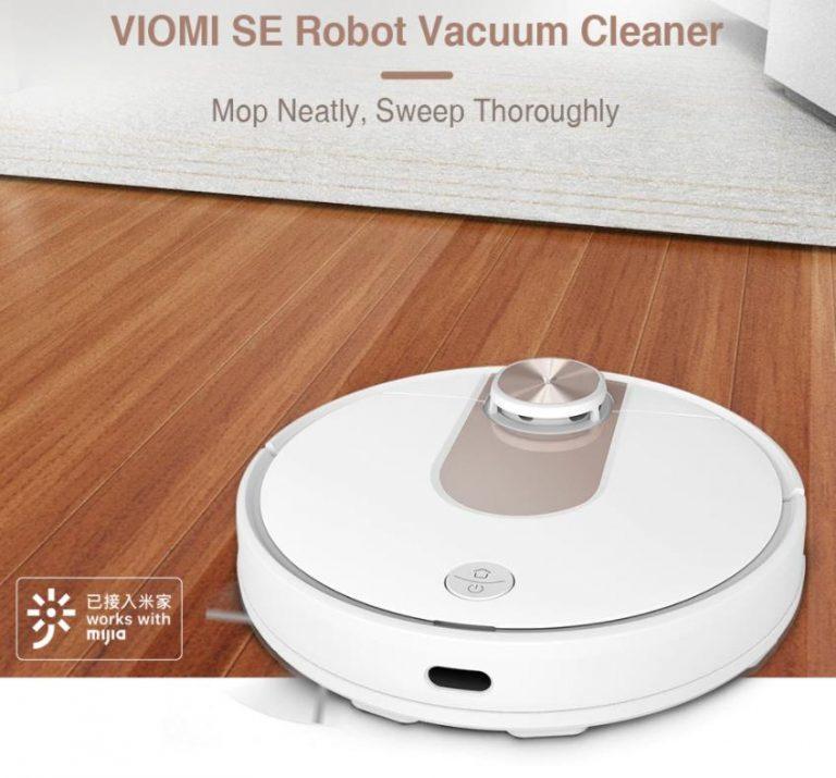 70 000-ért vihető a Viomi SE robotporszívó 2