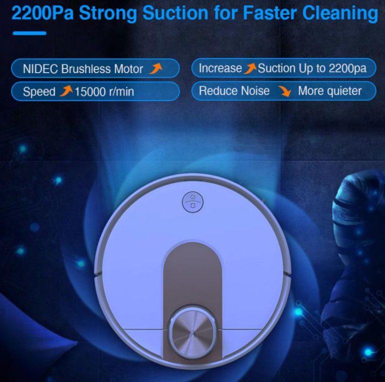 70 000-ért vihető a Viomi SE robotporszívó 6
