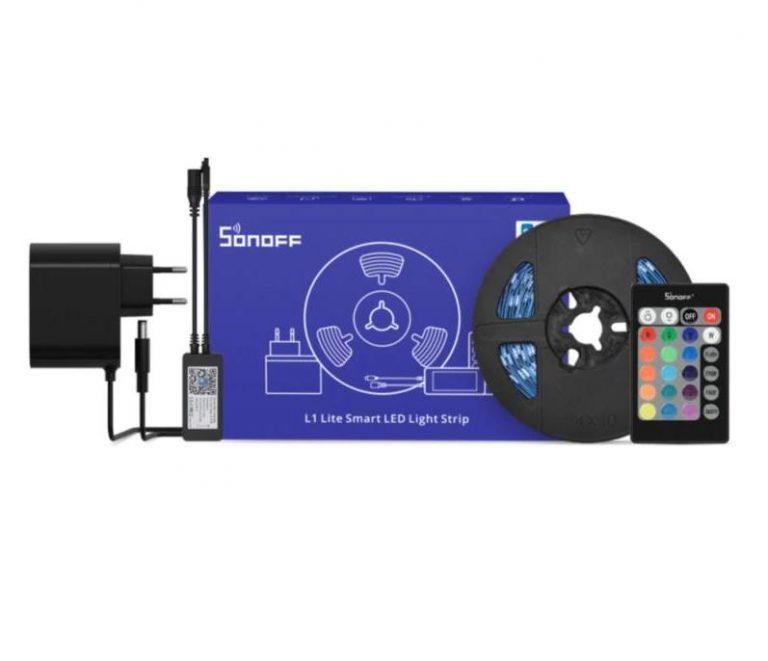 Nem vízálló, de olcsó a Sonoff L1 Lite LED szalag 3