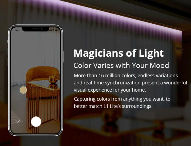Nem vízálló, de olcsó a Sonoff L1 Lite LED szalag 5